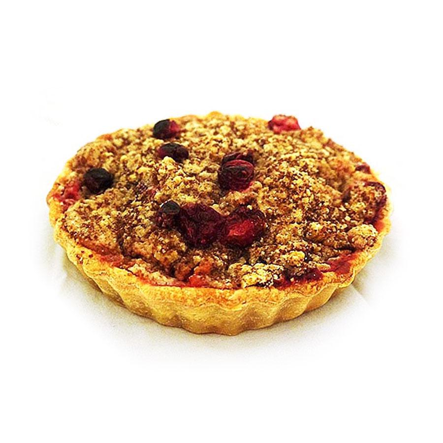 aypie appel cranberry kruimeltaart