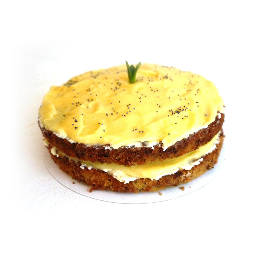 Courgette lemoncurdcake